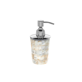 Mother-of-pearl mosaic dispenser