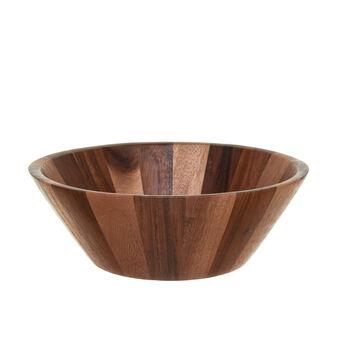 Salad bowl in Thai acacia wood