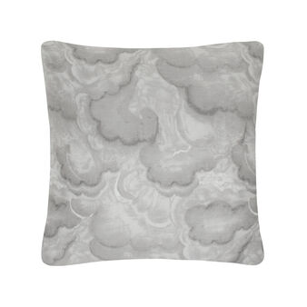 Square cushion in cotton satin