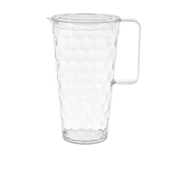 Plastic Carafe with geometric design