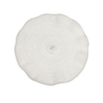 Round wavy table mat