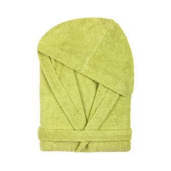 Solid colour bathrobe 100% cotton