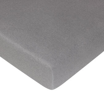 Plain fitted sheet in jersey