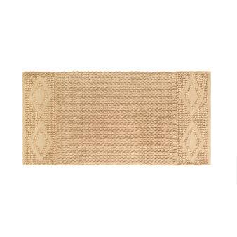 Woven texture kitchen mat