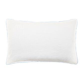 Pillow case in linen blend