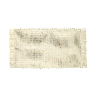 Cotton jute mat
