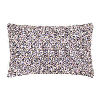 Pillowcase in 100% cotton percale with small flowers