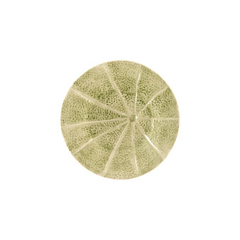 Portuguese ceramic side plate with melon
