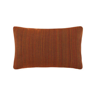 Rectangular jacquard cushion