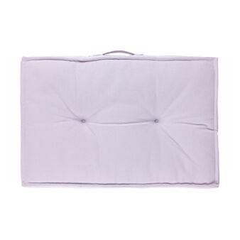 Cuscino mattress rettangolare puro cotone con manico