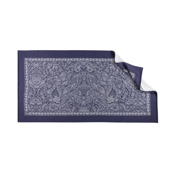 Beach towel in 100% cotton with floral print