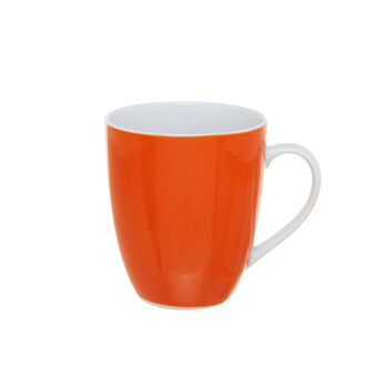 Mug in porcellana arancione