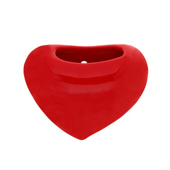Heart-shaped ceramic humidifier
