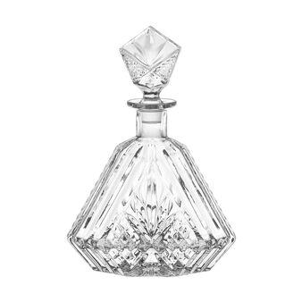 Bottiglia whisky a goccia vetro molato