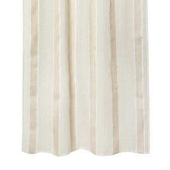 100% linen curtain with print