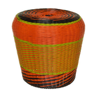 Vietnam multicoloured woven pouf