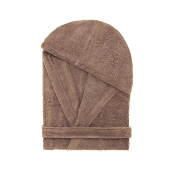 Zefiro cotton terry bathrobe