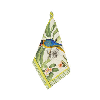 100% cotton parrot tea cloth