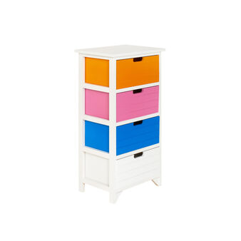Coloured drawer unit