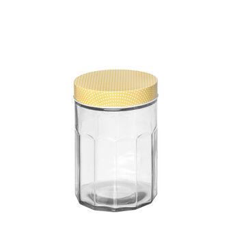 Barattolo vetro coperchio a pois