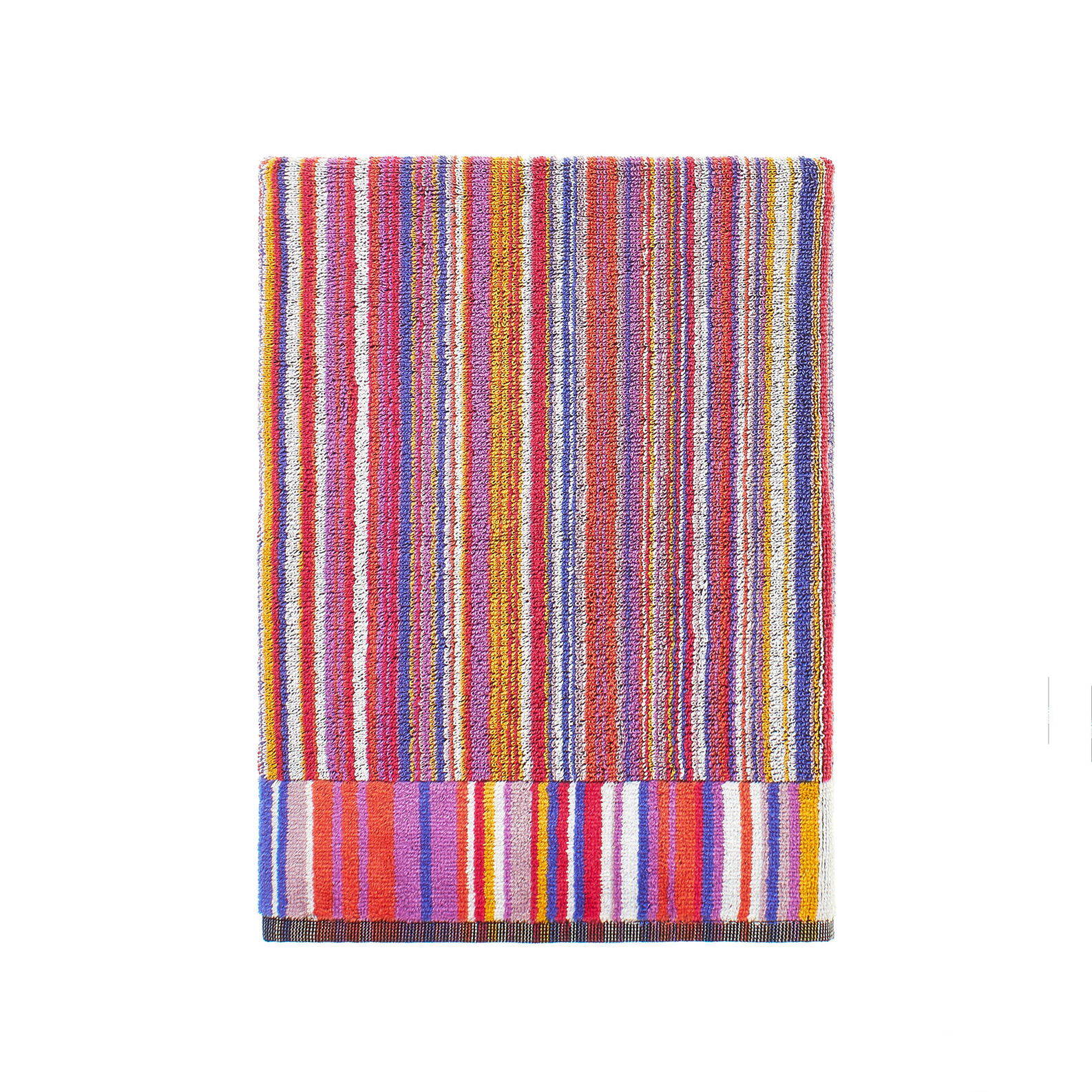 100% cotton towel with jacquard design pattern