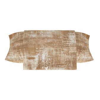 Printed cotton satin line