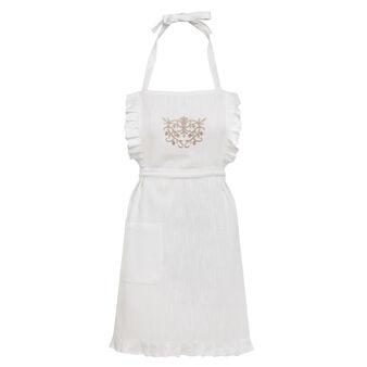 Burano embroidered apron