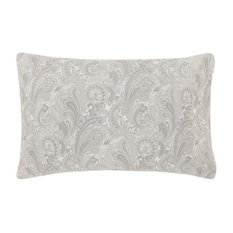 Paisley patterned pillowcase in cotton satin