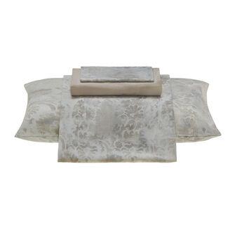 Completo letto raso cotone floreale Portofino