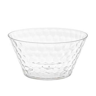 Salad bowl with geometric design