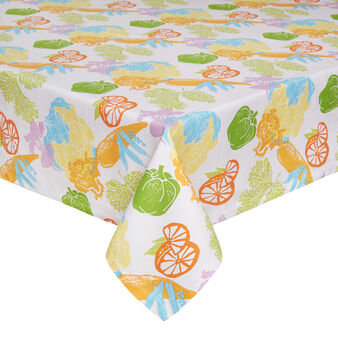 Cotton vegetable table cloth