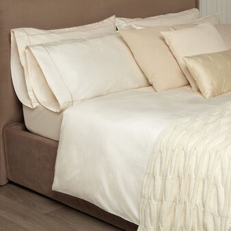Portofino duvet cover set with piping