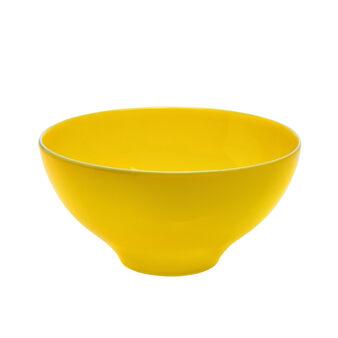 Insalatiera ceramica profilo a contrasto