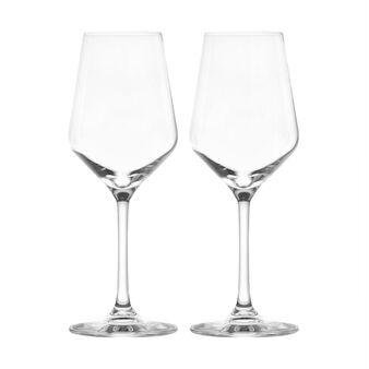 Set 2 calici vino bianco in vetro
