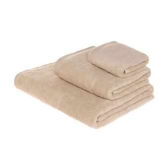 Zero twist terry towel