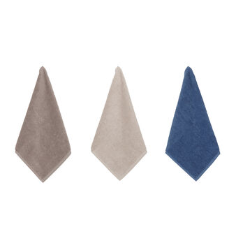3-pack tea cloths in 100% cotton