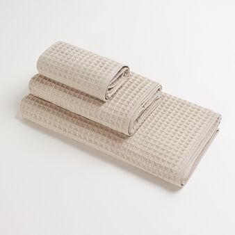 Asciugamano puro cotone a nido d'ape