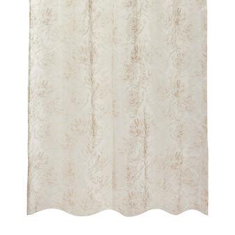 Linen blend curtain with  digital print