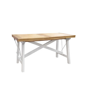 Two-tone extending table
