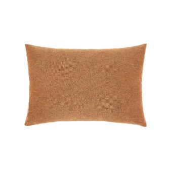 Cuscino cotone e viscosa rettangolare