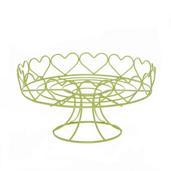 Steel cake stand