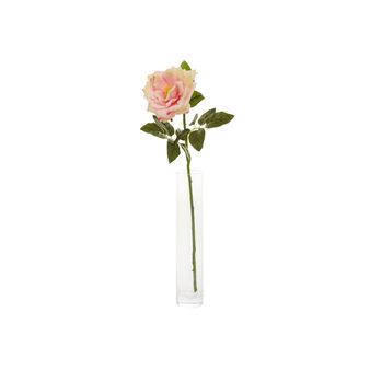 Sprig with pink rose