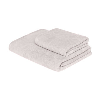 Jacquard velour towel