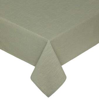 Iridescent cotton mélange table cloth