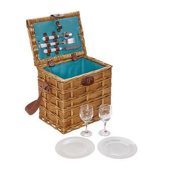 2-person picnic basket.
