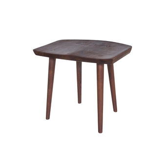 Cargo Shitake-B stool in American walnut