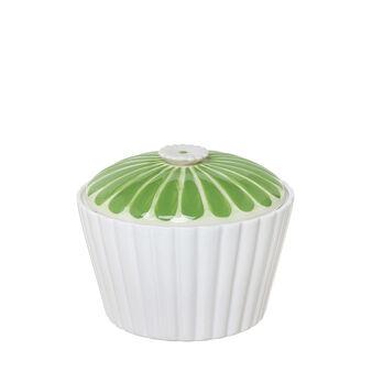 Biscottiera ceramica con coperchio