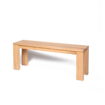 Cargo Oak Emotion Bench
