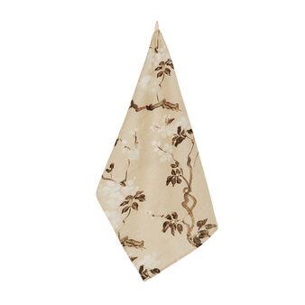 Peach tree 100% linen tea cloth with soft hand