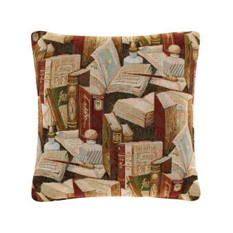 Jacquard gobelin cushion